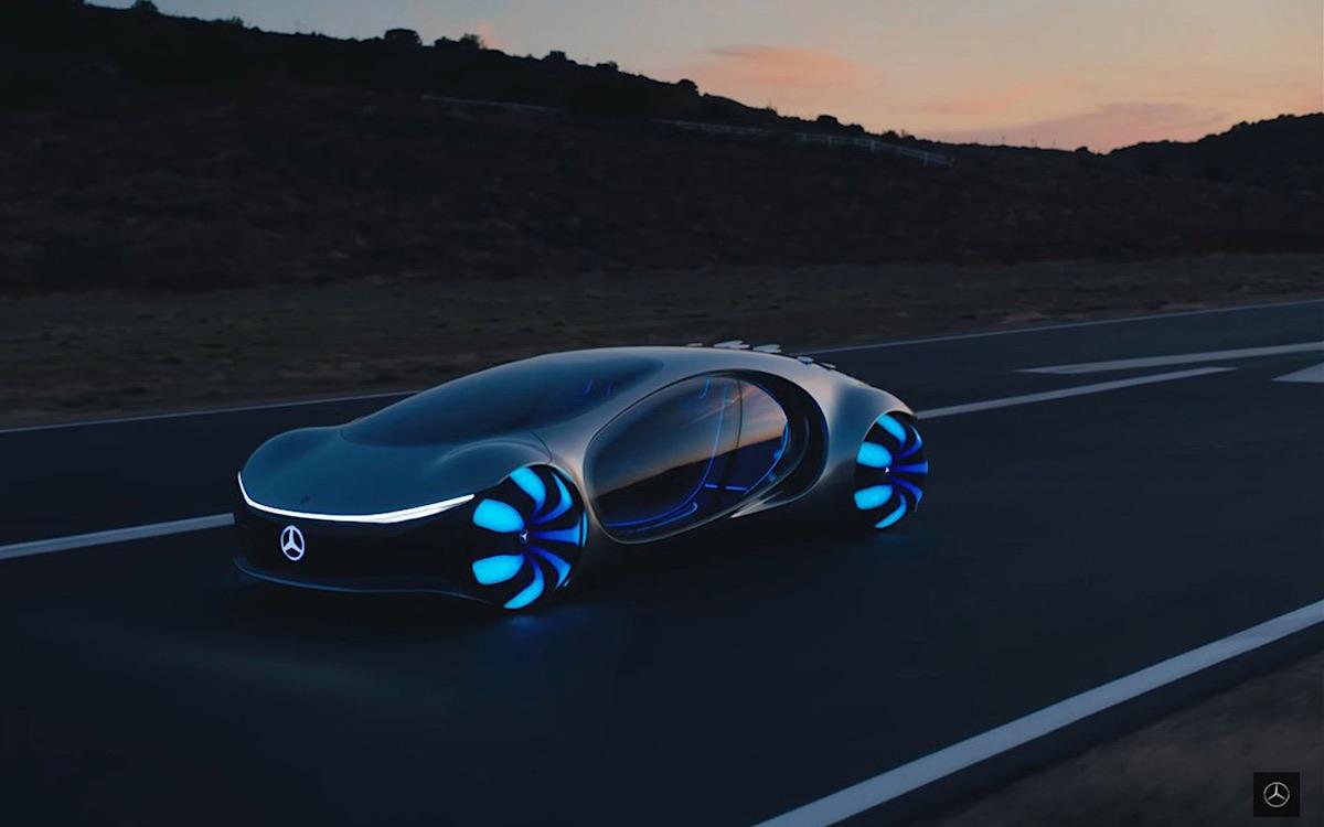 El Mercedes-Benz Vision AVTR es de otro planeta; el video muestra el futurista vehículo eléctrico en acción