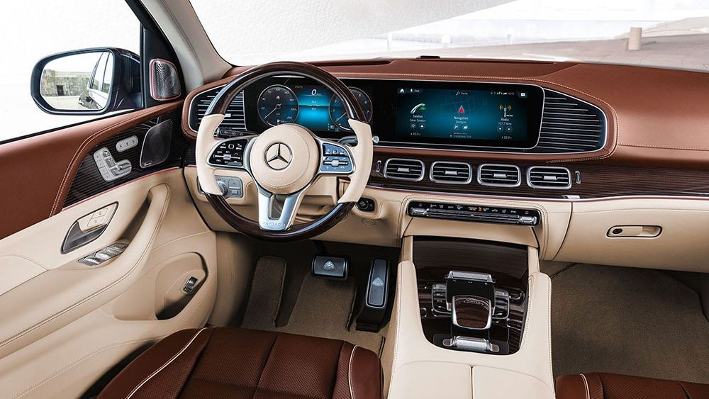 Interior de la nueva SUV de lujo alemana