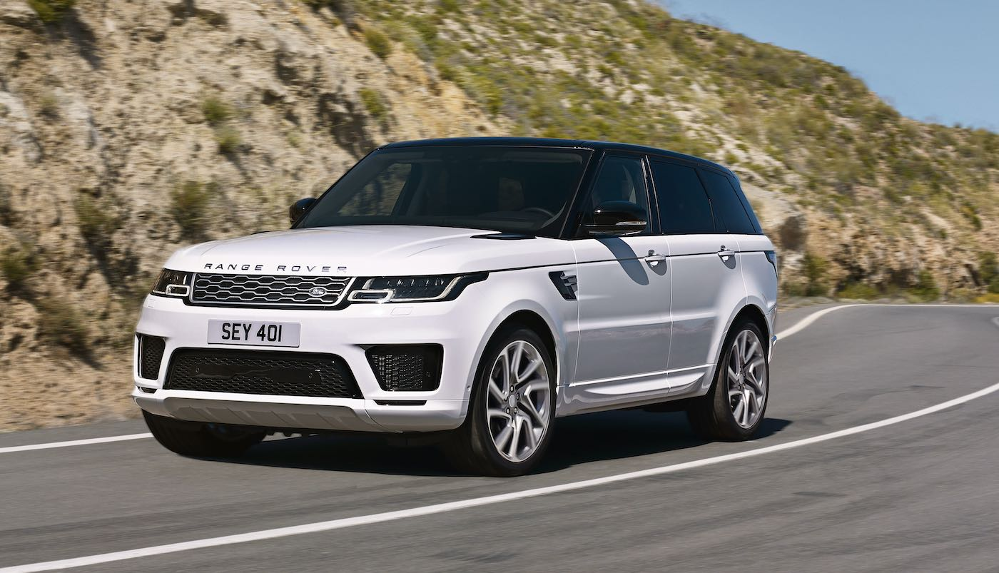 Range Rover Sport: Primer cero emisiones híbrido enchufable de Land Rover