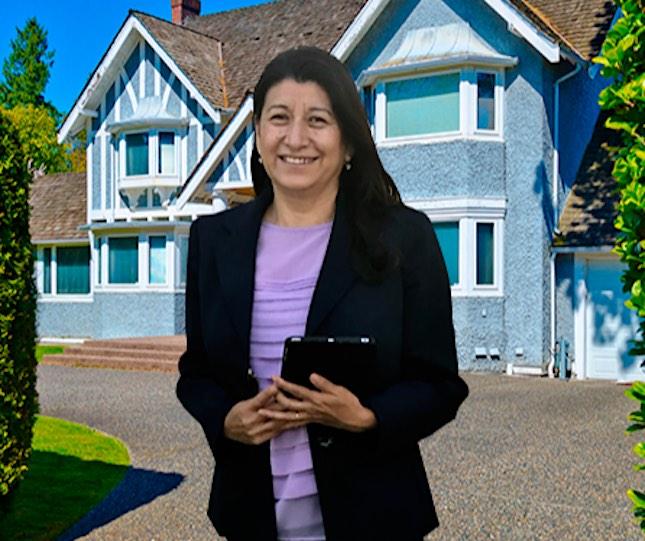 Zoila Galván ha llegado a ser su propia empresaria y se dedica a la asesoría inmobiliaria