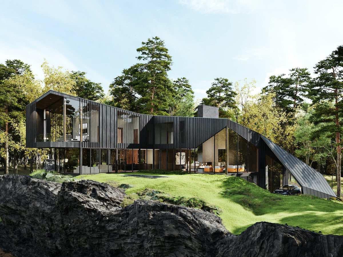 Sylvan Rock, una espectacular casa diseñada por Aston Martin en Nueva York a la venta por $7,7 millones.