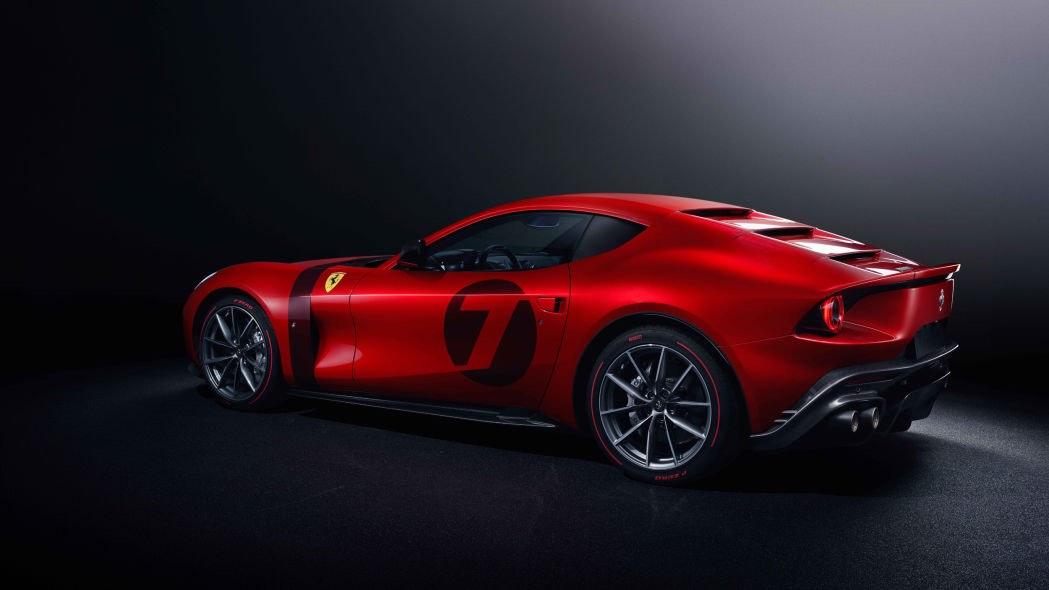 El Ferrari Omologata revelado como un impresionante One-Off Grand Tourer V12