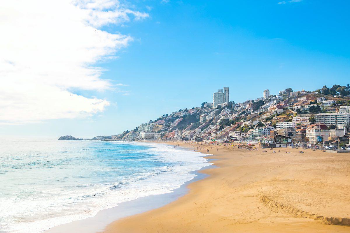 Renaca Beach - Vina del Mar, Chile