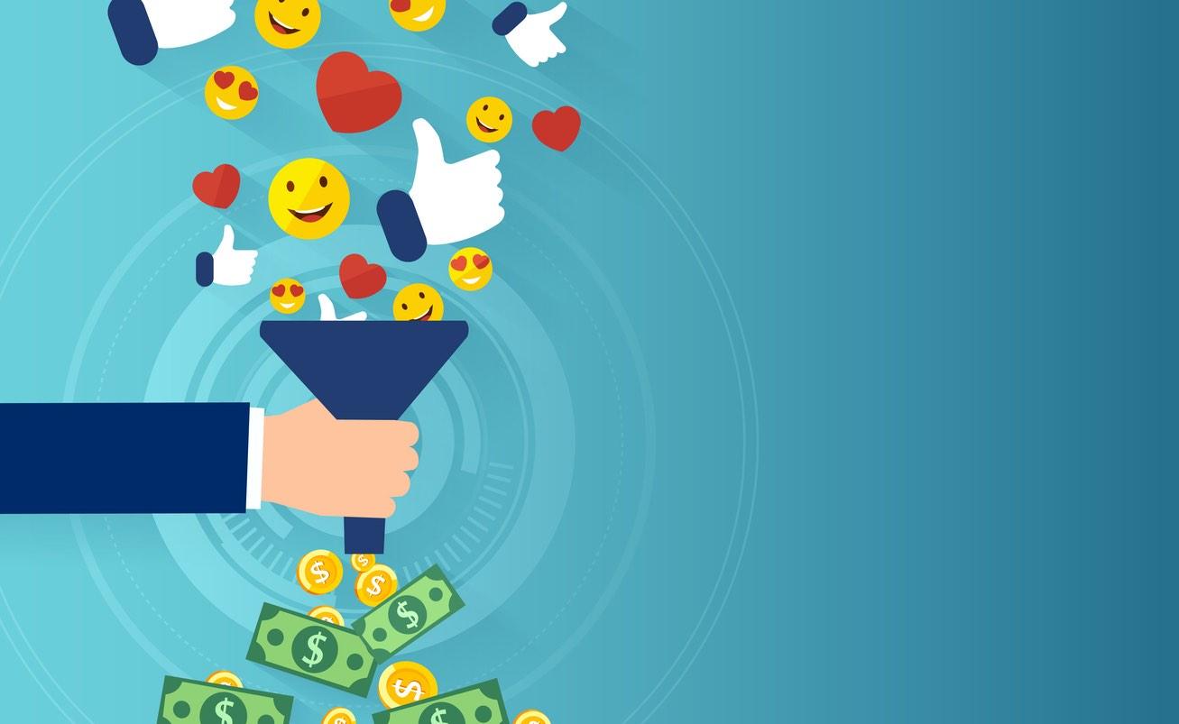 Otra forma de generar dinero es compartiendo un enlace, generado por un sistema exclusivo para cada usuario, a través de las redes sociales y apps de mensajería...