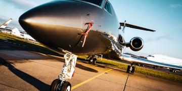 Avión de negocio