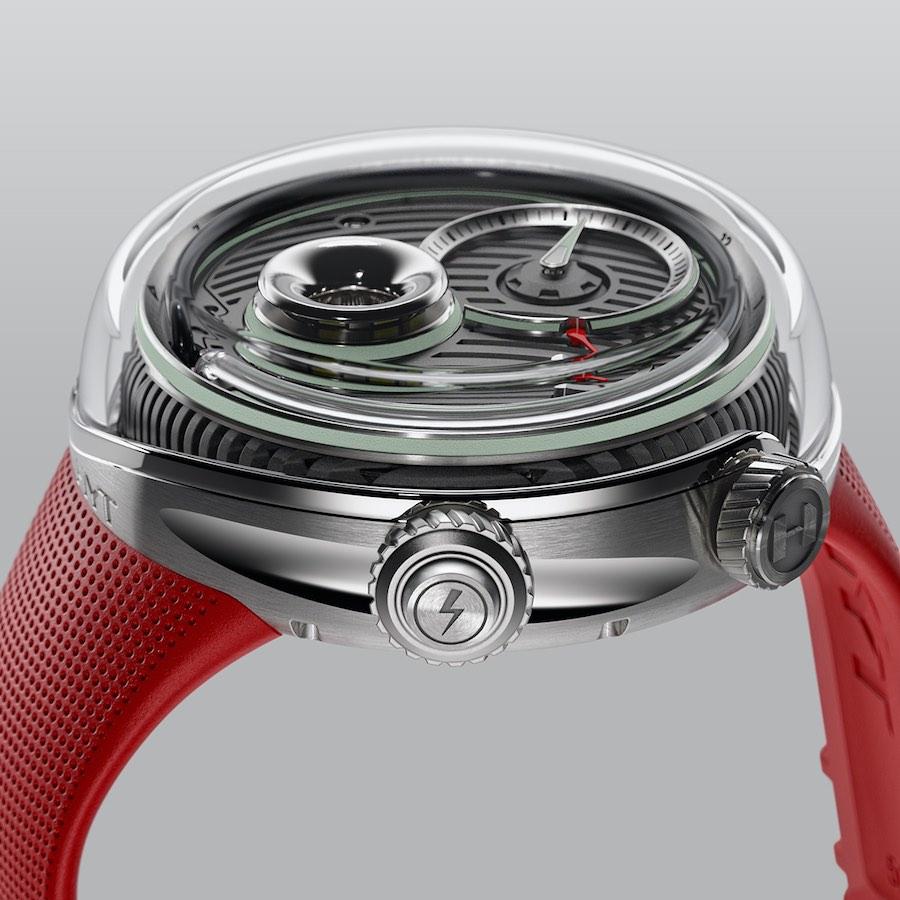HYT presenta el nuevo reloj FLOW