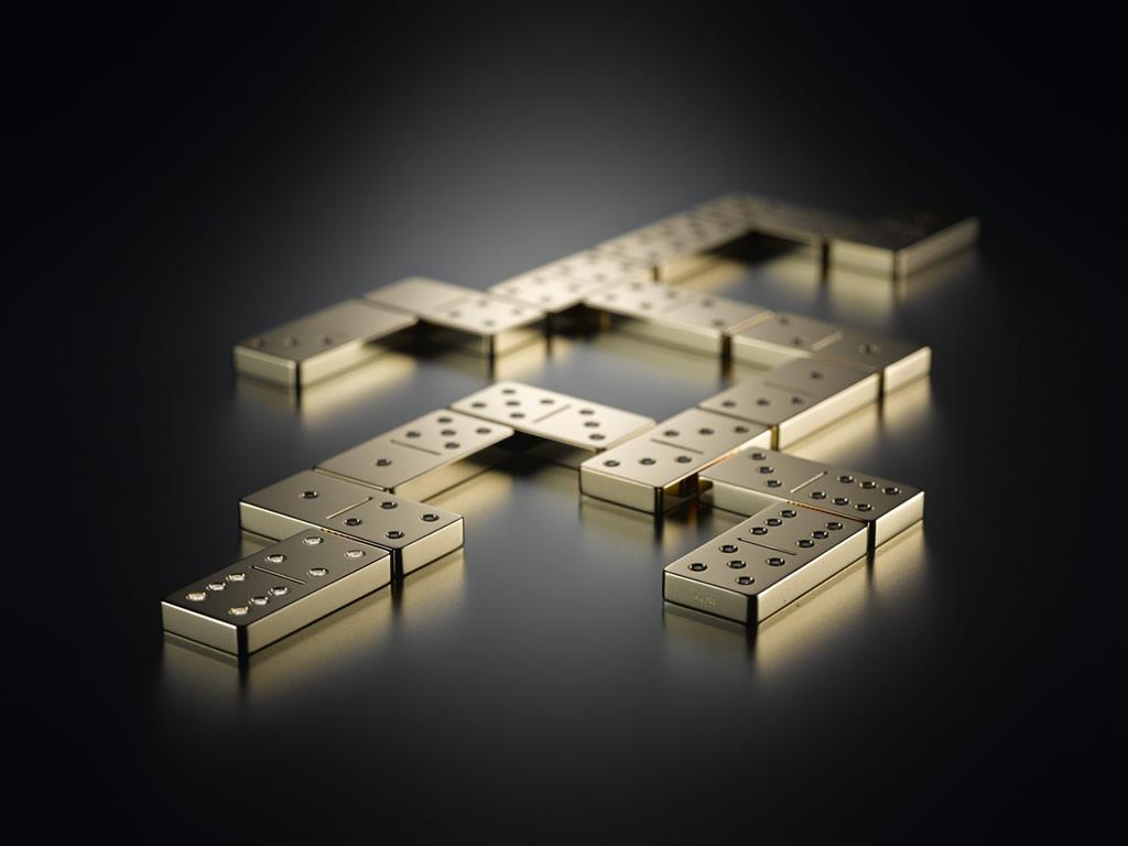 Hecho de ORO 18K y con DIAMANTES, Este dominó, es el set más caro del mundo por Lieb Manufaktur
