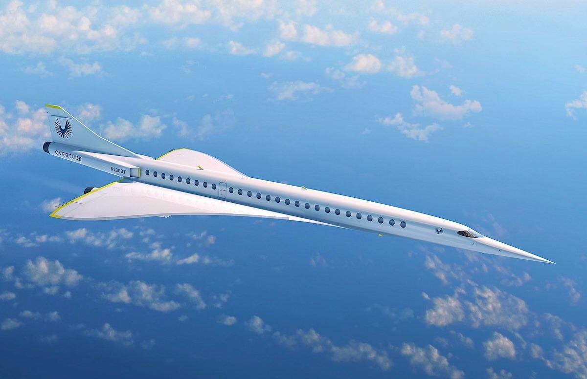 Los jets privados más rápidos del mundo: avión supersónico Boom XB-1