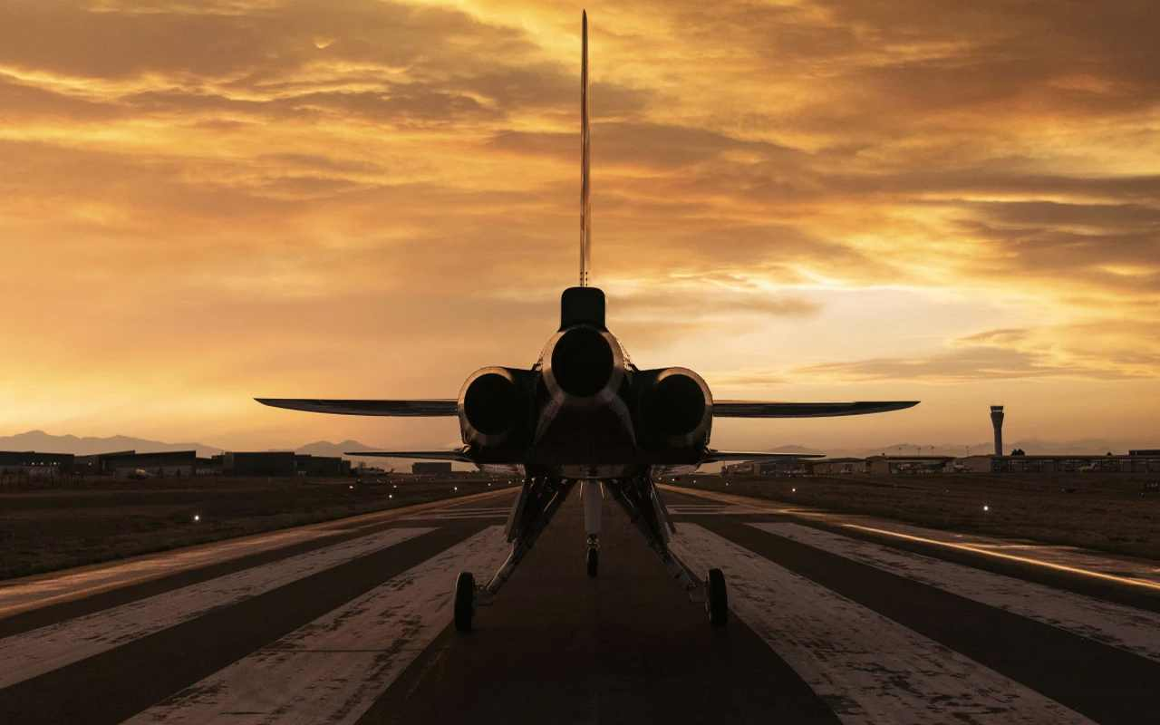 El avión será propulsado por tres motores General Eléctric CJ610 de 3.500 lbf (16 kN).