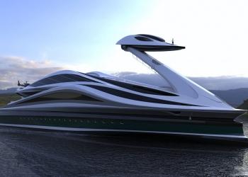 Lazzarini Design presenta el concepto de superyate Avanguardia de 137 metros