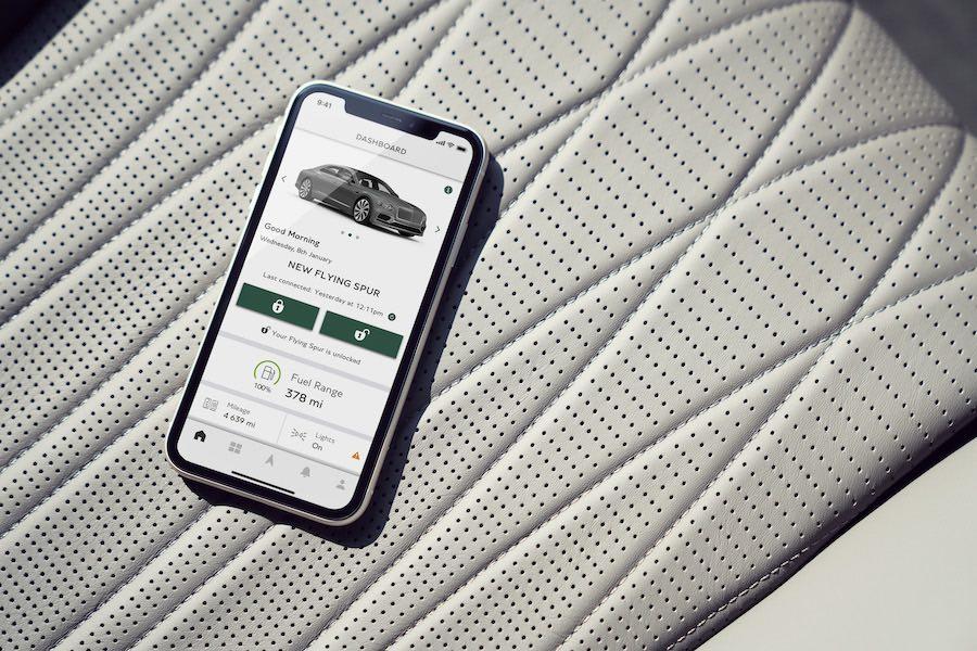 Bentley Flying Spur listo para volar con potencia V8