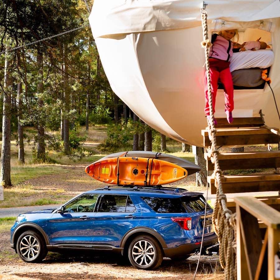 Ford y los expertos en exploración al aire libre komoot te ayudan a encontrar nuevas aventuras