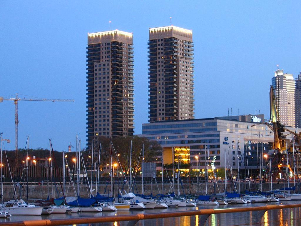 Hotel Hilton en Buenos Aires, Argentina.