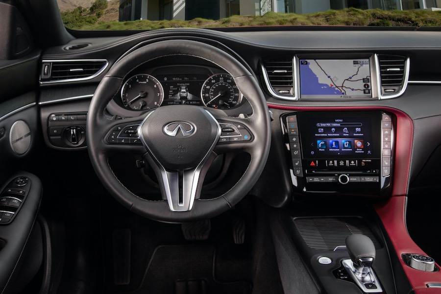 INFINITI QX55: El crossover coupe más atrevido hasta la fecha