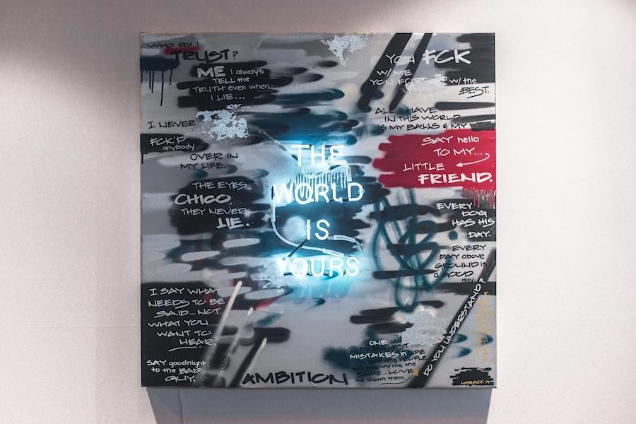 Jamalat Larach, soñar sin límites la llevó a exponer sus pinturas en Europa