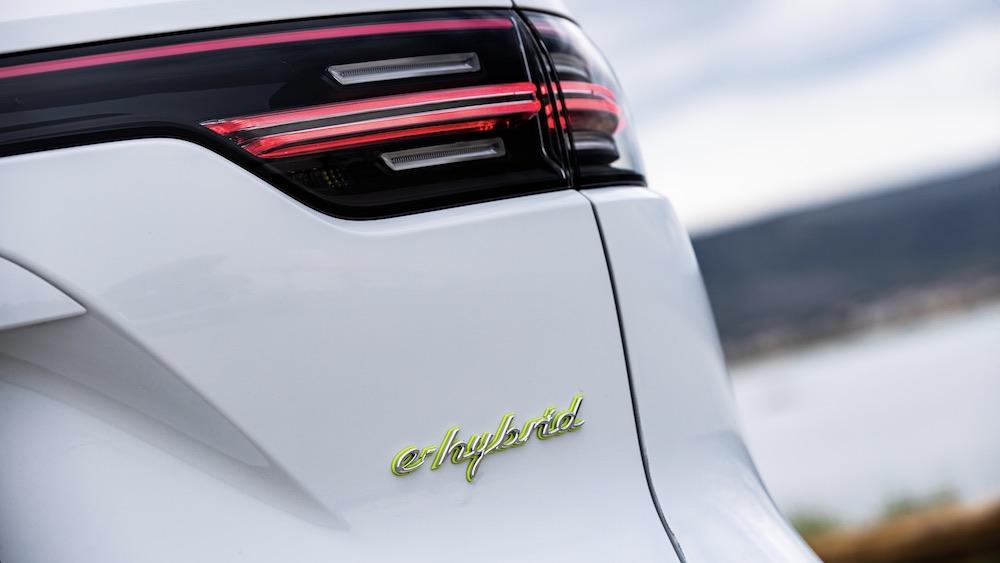 Más autonomía eléctrica para los Cayenne E-Hybrid