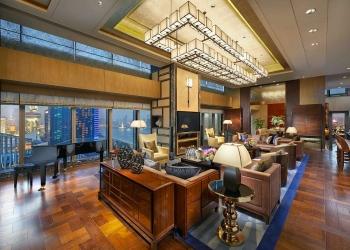 Presidential Suite, Mandarin Oriental Pudong
