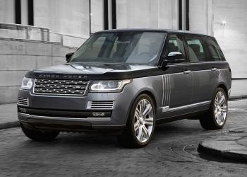 Range Rover SVAutobiography: Una mega lujosa edición especial