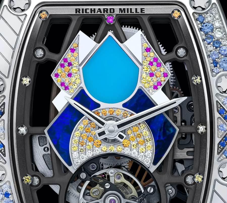 La colección RM 71-02 Automatic Tourbillon Talisman de Richard Mille devuelve a la vida los emocionantes años 70