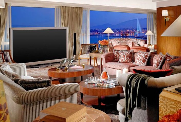 Royal Penthouse Suite en el Hotel President Wilson