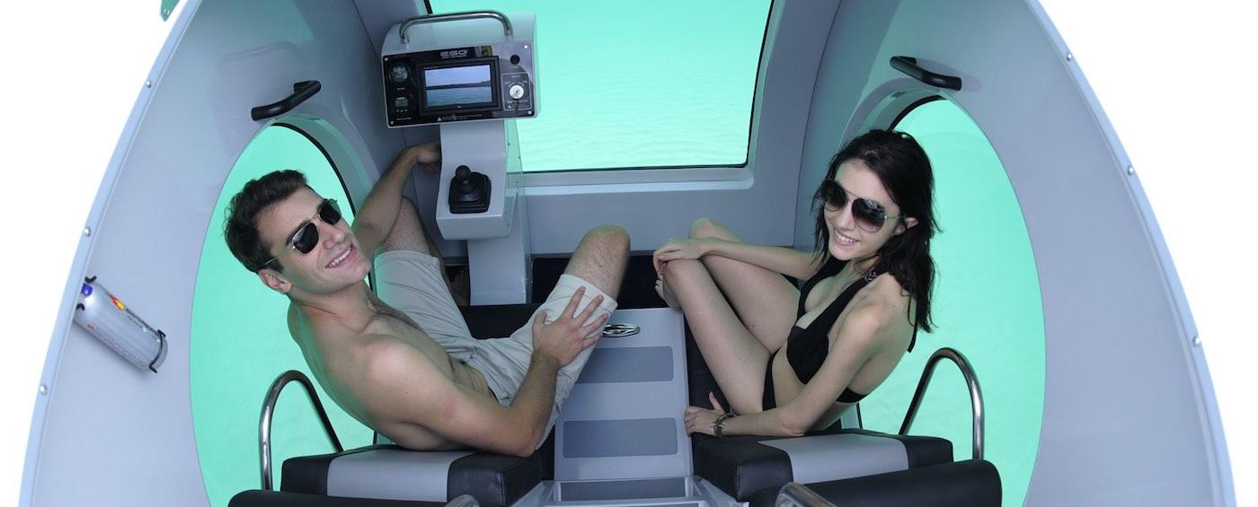 EGO: Semi-submarino eléctrico personal por Raonhaje