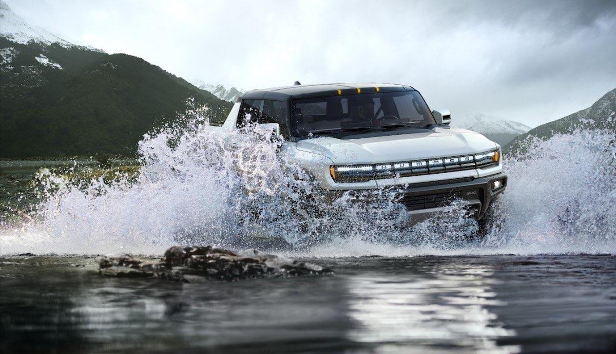 Conozca la impresionante camioneta eléctrica GMC Hummer EV 2022