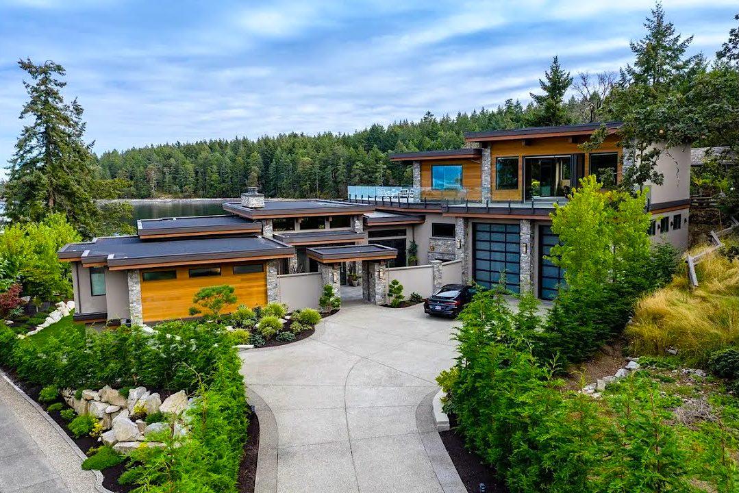 Esta hermosa casa moderna frente al mar en Vancouver, Columbia Británica se vende por $6,08 millones