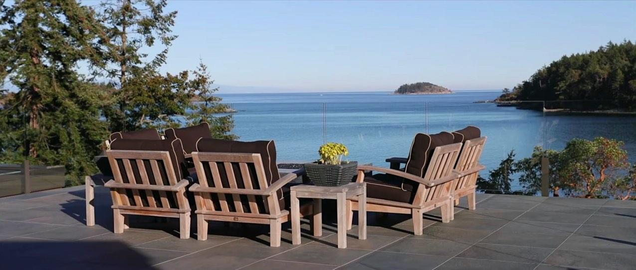 Esta hermosa casa moderna frente al mar en Columbia Británica se vende por $6,08 millones