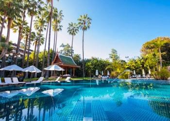 El Hotel Botánico en Tenerife: muy activo en su interior a la espera de su próxima reapertura