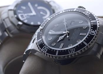 Reloj de pulsera Rolex Deepsea y Tag Heuer Aquaracer