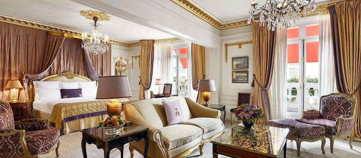 Royal Suite: Una de las 10 suites de hotel más exclusivas del mundo.
