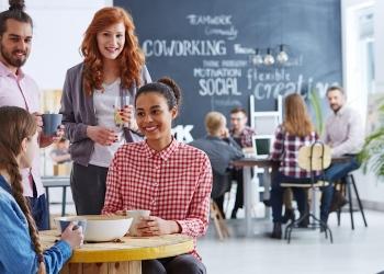 coworking y los centros de negocios