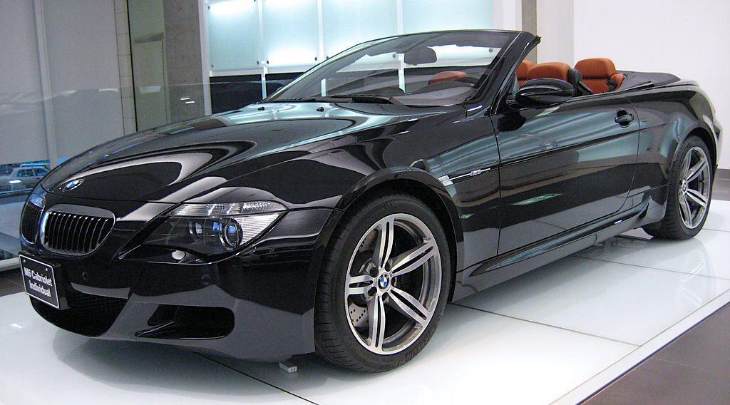 BMW M6 Cabriolet Convertible