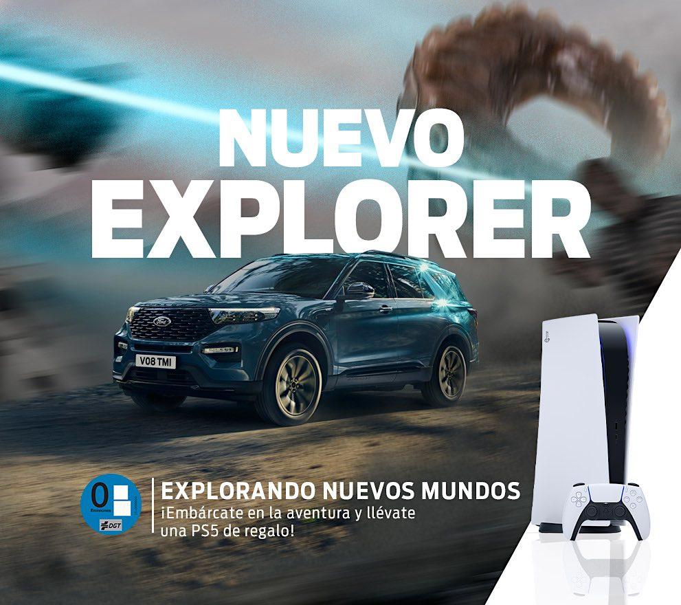 El nuevo Ford Explorer y la última generación de consolas PlayStation suman fuerzas en sus esperados lanzamientos en España