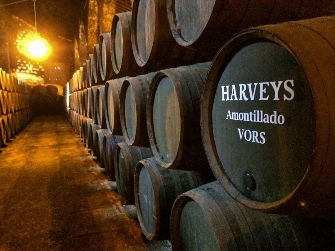 Vino Harveys Very Old Amontillado V.O.R.S.
