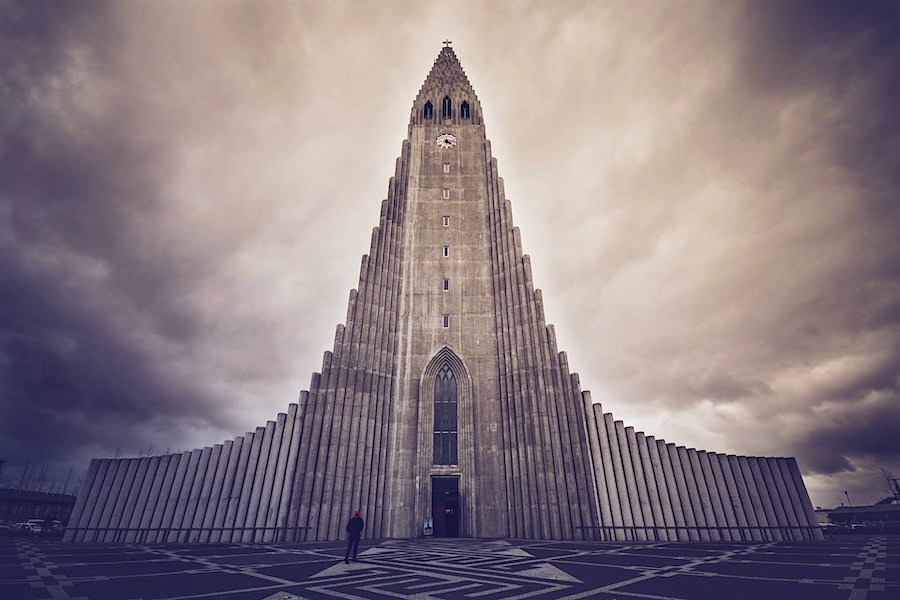 Iglesia Reikiavik, Islandia