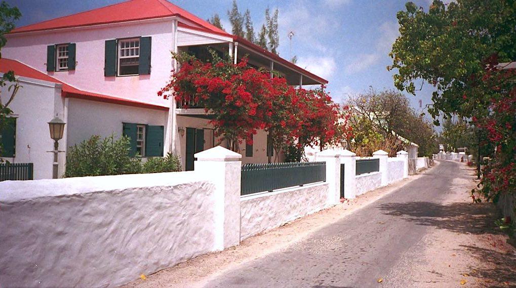 Cockburn Town en Islas Turcas y Caicos.
