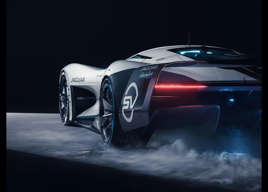 Llega el Jaguar Vision Gran Turismo SV: El mejor bólido totalmente eléctrico para carreras virtuales de resistencia