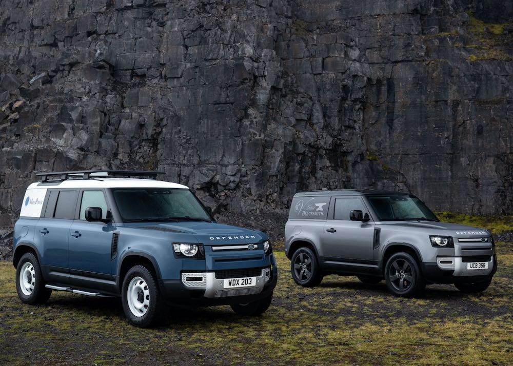 Land Rover Defender incorpora un modelo eléctrico híbrido enchufable, un diésel de seis y el nuevo X-Dynamic