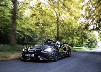 McLaren 620R: Poder en las carretearas