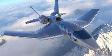 El avión futurista Pegasus eVTOL promete aterrizaje y despegue vertical con comodidades de un jet privado