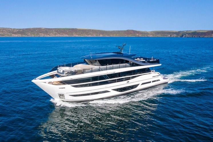 Los principales fabricantes de yates de lujo 2021: Princess Yachts Superfly X95