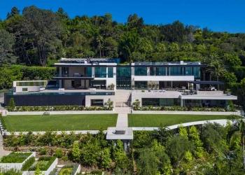 Esta mansión ultramoderna en Bel Air, California está a la venta en $99 millones
