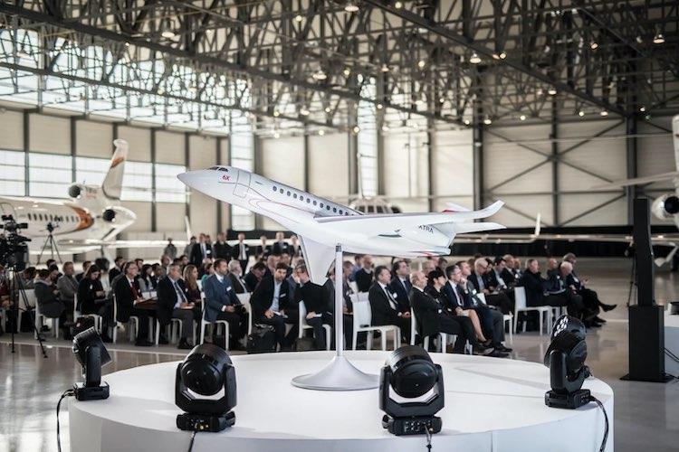 El nuevo birreactor es más espacioso, avanzado y versátil de la aviación de negocios.