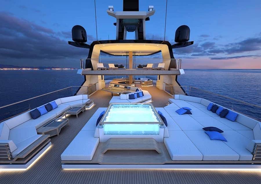 Hydrotec Creative Naval Architecture reveló un magnífico concepto de yate explorador de 65 metros.