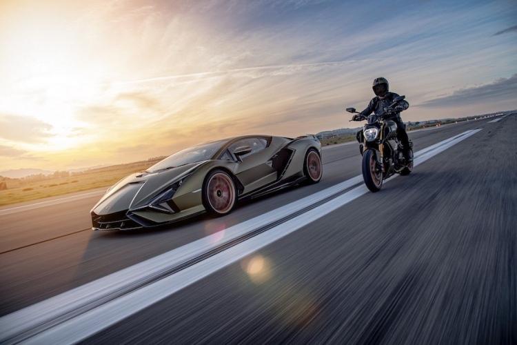 La motocicleta Diavel 1260 Lamborghini