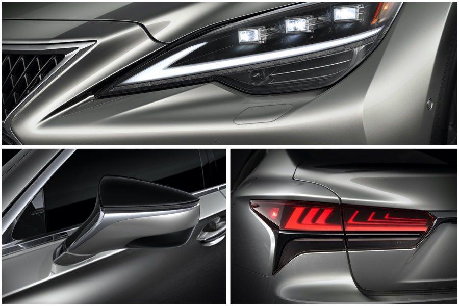 Otros detalles del coche de lujo japonés