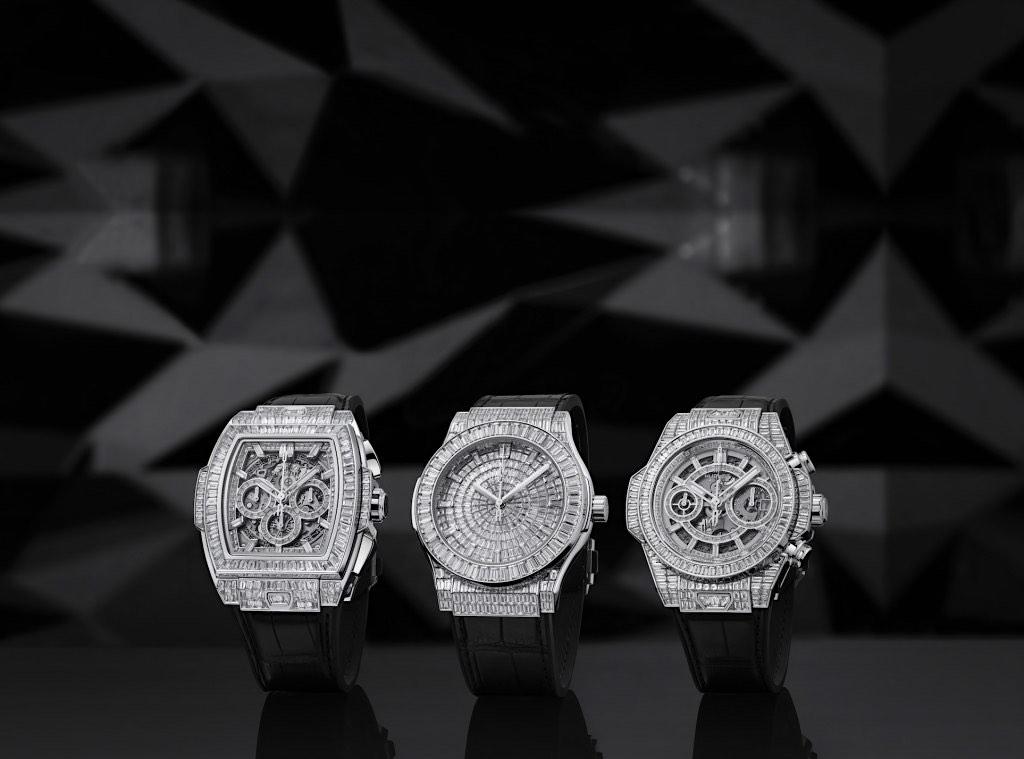 Hublot lanzó una colección de alta joyería con diamantes