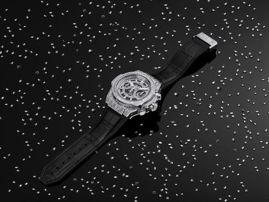 Hublot lanzó colección de relojes incrustados con diamantes de Alta Joyería