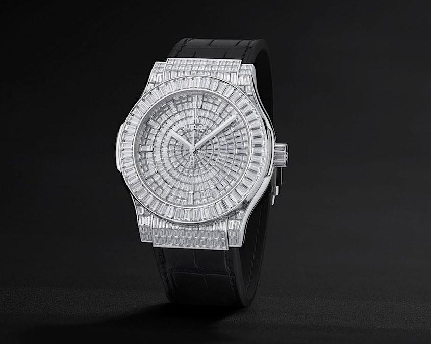 Reloj Hublot Classic Fusion de alta joyería